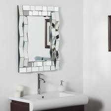 wall mirrors bathroom bellacor com sherise brushed nickel oval