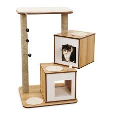 hagen vesper v double cat furniture cat towers and climbers