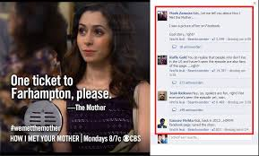 Himym Meme - spoiler s08e24 so the himym facebook admin posted this just