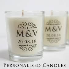 candle wedding favors wedding favours personalised candles wedding