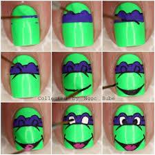 25 ninja turtle nails ideas turtle nails diy