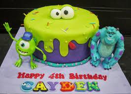 cupcake divinity cayden u0027s monsters inc cake