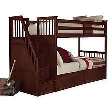 bunk u0026 loft beds kids twin loft beds with stairs bed bath u0026 beyond