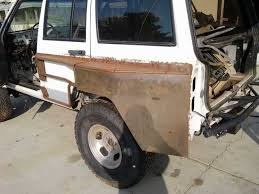 jeep cj prerunner 951 kreations build 4 door one off pre runner rear fenders naxja