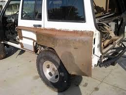 jeep grand cherokee prerunner 951 kreations build 4 door one off pre runner rear fenders naxja