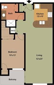 One Bedroom Floor Plans One Bedroom Apartment Floor Plans Archives Edge On North Apartments