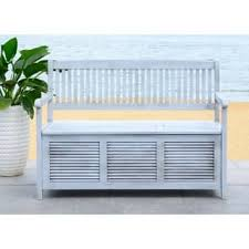 grey outdoor benches for less overstock com