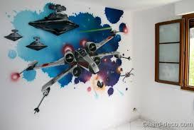 chambre wars decor décors wars yoda vador dans une chambre d ado