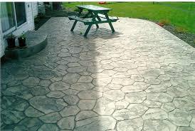 stamped concrete patios amazing concrete patio designs