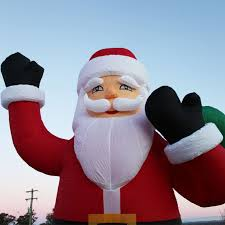 giant inflatable christmas decorations uk giant inflatable santa