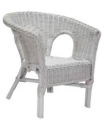 furniture home best childrens rattan chair in white wicker