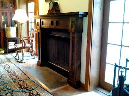designing a mission style fireplace mantle crown millwork