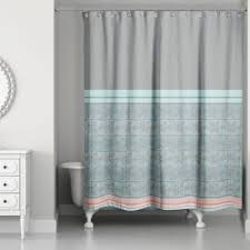 Coral And Gray Curtains Unique Ideas Blue Gray Shower Curtain Innovation Curtains And