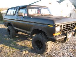 Vintage Ford 4x4 Truck - 1978 ford bronco 4x4 lifted classic ford truck for sale in