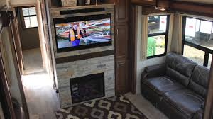 5th Wheel Living Room Up Front by Montana Front Kitchen Youtube