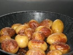 comment cuisiner les pommes de terre grenaille pommes de terre grenaille thym huile d olive recette ptitchef