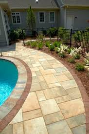 Flagstone Ideas For A Backyard 25 Great Stone Patio Ideas For Your Home Walkways Pretty