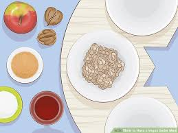 bitter herbs on seder plate how to a vegan seder meal 13 steps with pictures wikihow