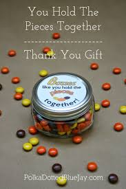 you hold the pieces together thank you gift thanksgiving