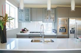 Kitchen Countertop Design Ideas Concrete Vs Granite Kitchen Countertops The Times Modern Counter 1