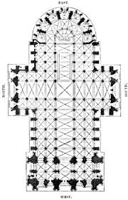 Gothic Architecture Floor Plan The Project Gutenberg Ebook Of Architecture Gothic And