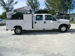 Ford Diesel Utility Truck - 2004 ford f350 f450 diesel crew cab mechanics utility service