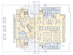 lake forest college library bilbiofiles building plans first floor plan