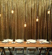 Gold Shimmer Curtains 9ftx9ft Silver Gold Shimmer Sequin Fabric Backdrops Wedding Photo