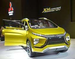 mitsubishi suv 2016 mitsubishi motors reveals xm concept crossover suv in indonesia