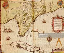 Map Of Florida by Map Of Florida And Cuba By Theodore De Bry 1563 Pictures Getty