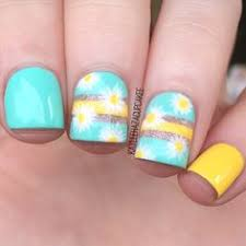 pretty spring pedi by sweetynails ny enter or vote in the hard