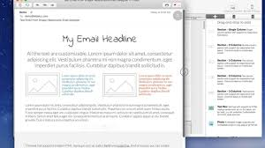 format html sed zero coding responsive emails how to customize and send a