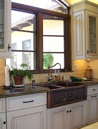 Kitchen Faucet San Diego Terrific Copper Kitchen Sinks Remodeling Ideas With Farmhouse
