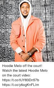 hoodie melo off the court watch the latest hoodie melo on the