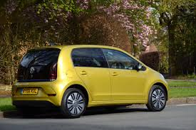 volkswagen up yellow volkswagen e up review greencarguide co uk