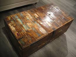 Rustic Iron Coffee Table Distressed Wood Coffee Table For Industrial Style