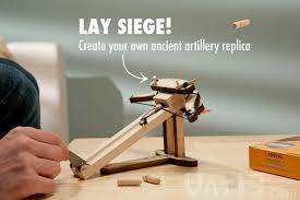 diy wooden ballista kit create your own model of roman artillery