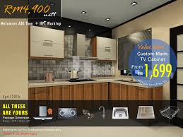 Tv In Kitchen Cabinet by Kitchen Cabinet Penang Home Decoration Ideas