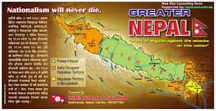 map of nepal and india issues of the greater nepal historical reference and