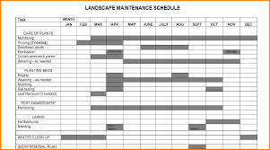 Home Maintenance Spreadsheet by 6 House Maintenance Schedule Memo Templates