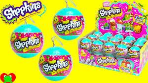 shopkins christmas ornaments season 3 bauble surprises youtube