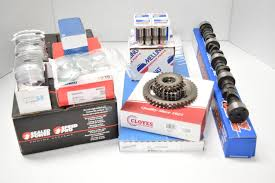 amazon com chevy marine 5 7l 350 master engine kit pistons cam