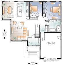 open concept home plans modern house plans house plan w3283 detail from drummondhouseplans