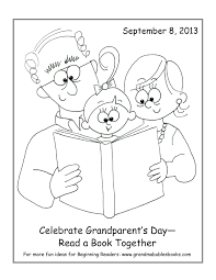 happy grandparents day coloring pages getcoloringpages com
