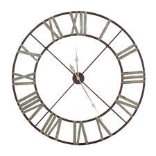 wonderful giant roman numeral wall clock photo design ideas
