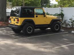 jeep yellow yellow tj 2 ask a jeeper