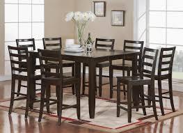 red barrel studio tamarack 9 piece counter height dining set