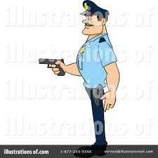 police man clipart 1105152 illustration by cartoon solutions