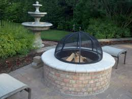 Brick Fire Pits by Firepit Design Brick Firepit Outdoor Entertaining Construction