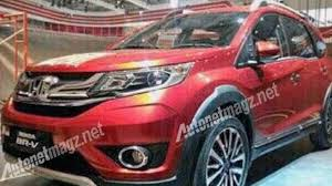 crossover honda honda br v partially revealed ahead of tomorrow u0027s debut